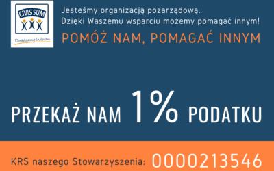PODATEK 1 %